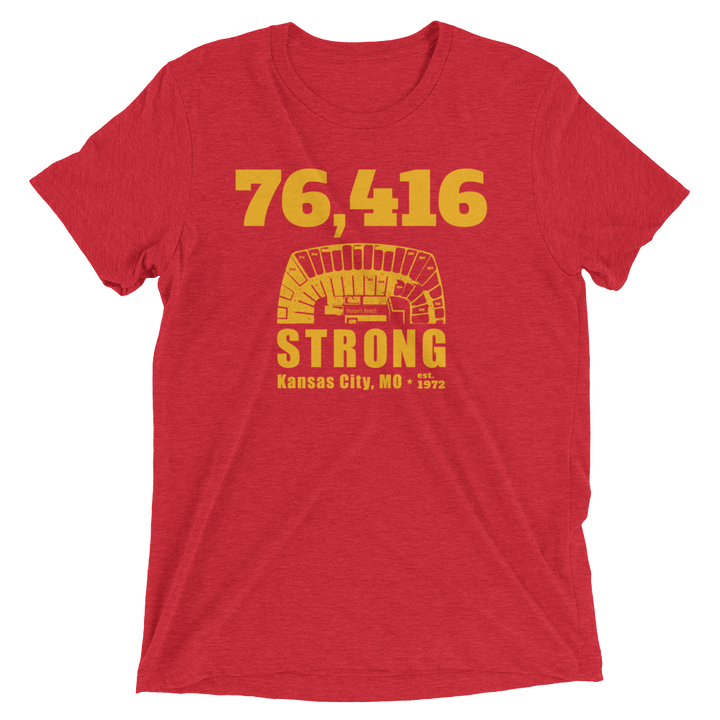 76,416 Strong Short Sleeve T-Shirt