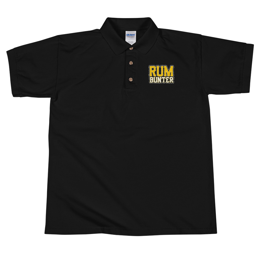 Rum Bunter Embroidered Polo Shirt