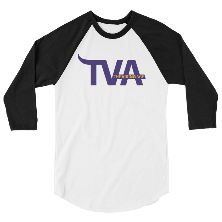 Minnesota Football 3/4 sleeve raglan shirt