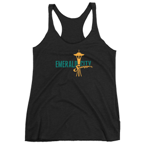 Emerald City Swagger Women's Racerback Tank