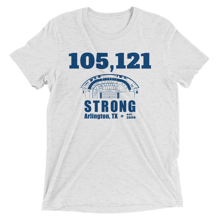 105,121 Strong Short Sleeve T-Shirt