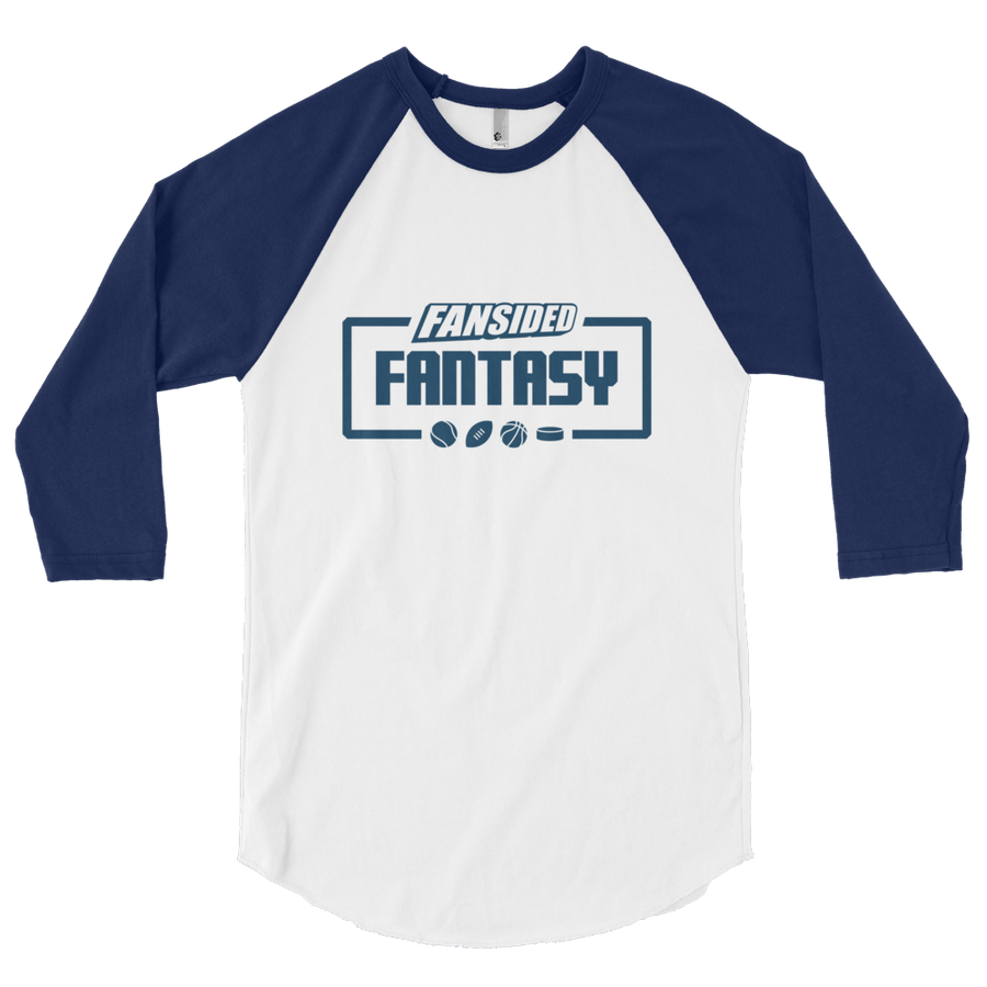 FanSided Fantasy 3/4 sleeve raglan shirt