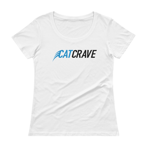 Women's Cat Crave Scoopneck T-Shirt