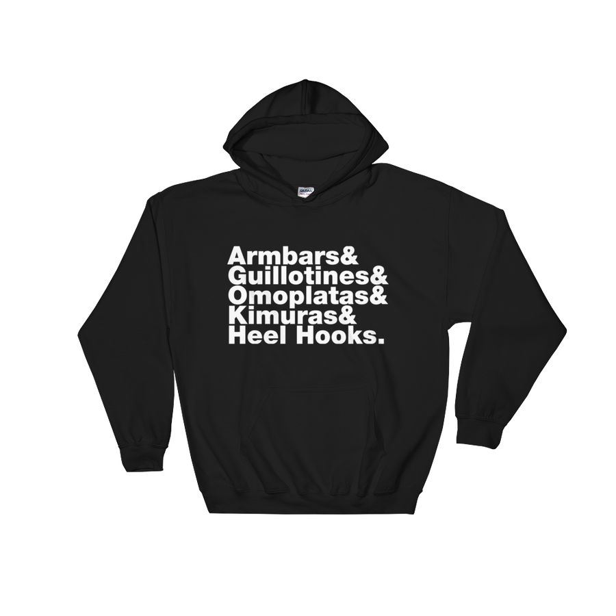 Combat Sports Moves Hooded Sweatshirt