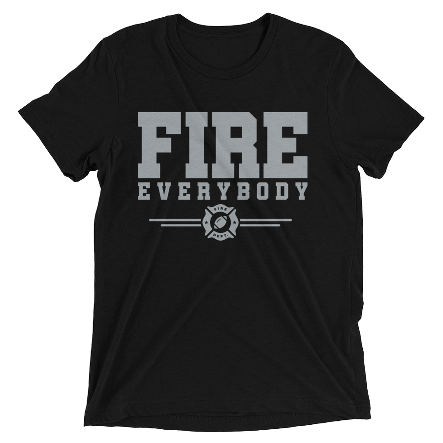 FIRE EVERYBODY Short Sleeve T-Shirt