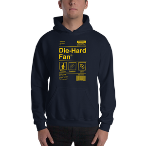 Michigan Die-Hard Fan Hooded Sweatshirt