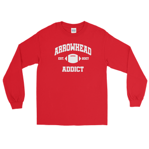 Arrowhead Addict Est. 2007 Long Sleeve T-Shirt
