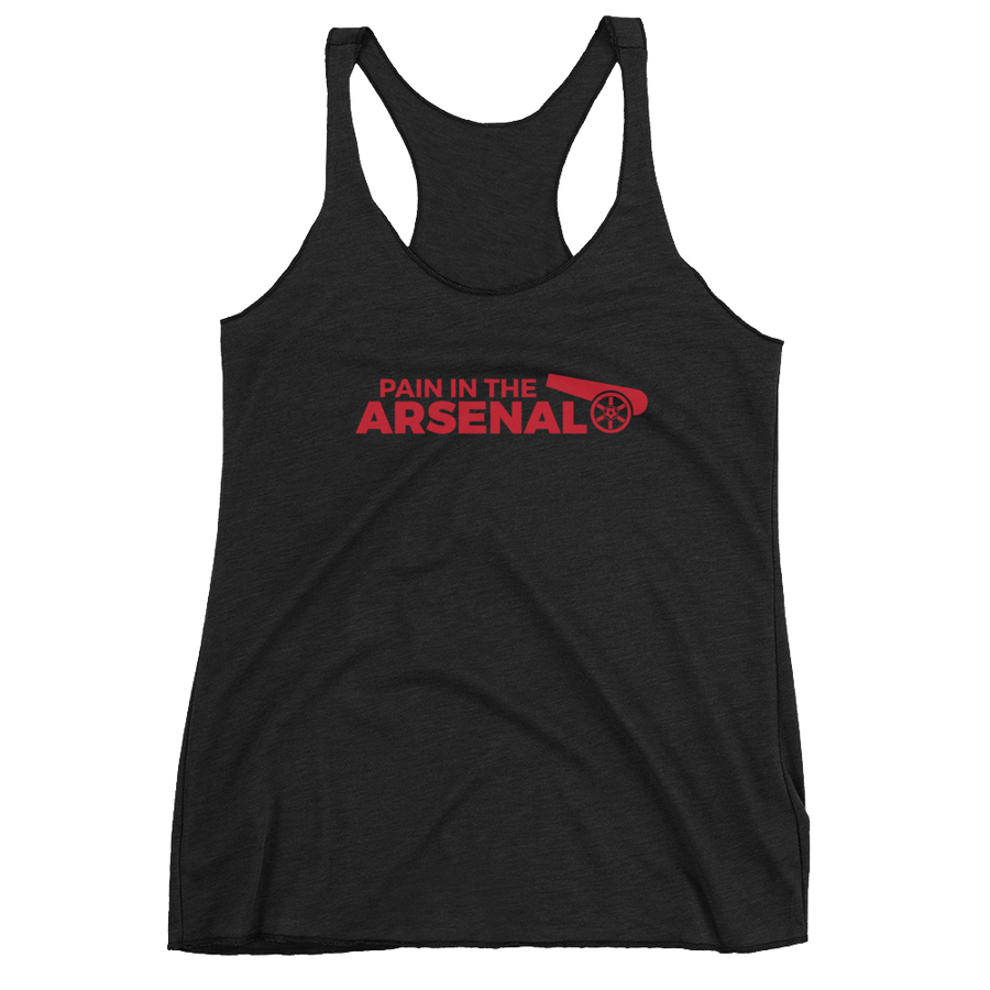 Women's Pain in the Arsenal Racerback Tank