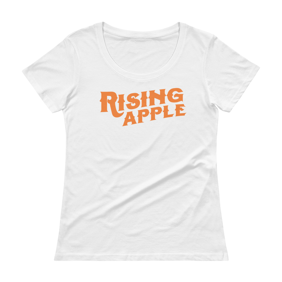 Women's Rising Apple Scoopneck T-Shirt