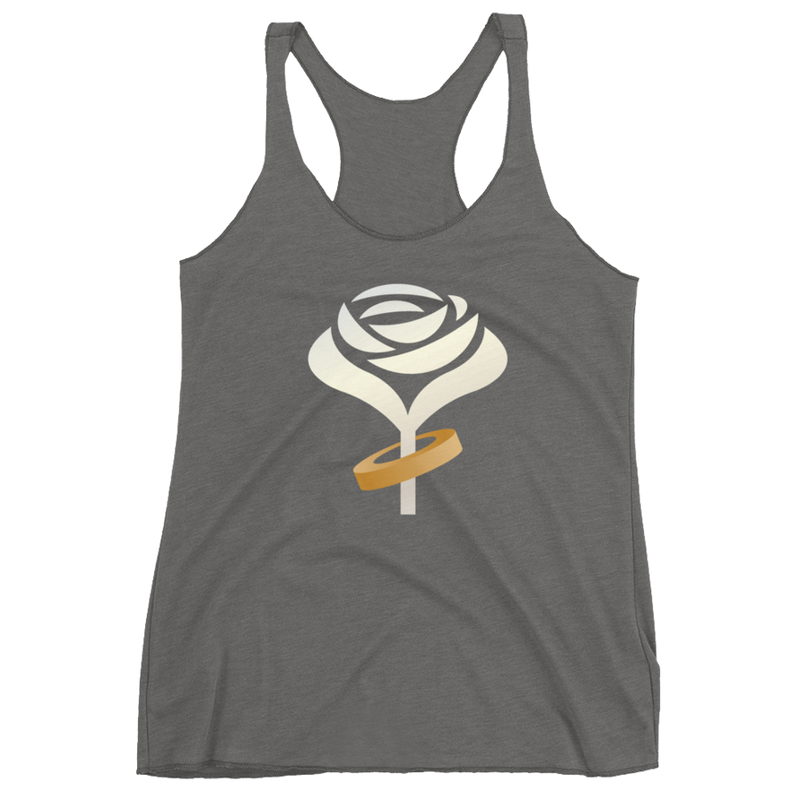 Accept This Rose Women's Racerback Tank