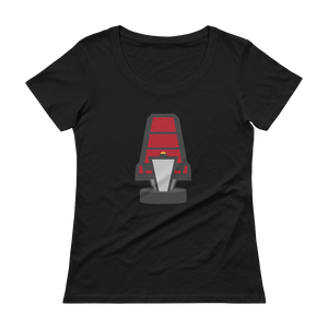Women's Turn That Chair Scoopneck T-Shirt