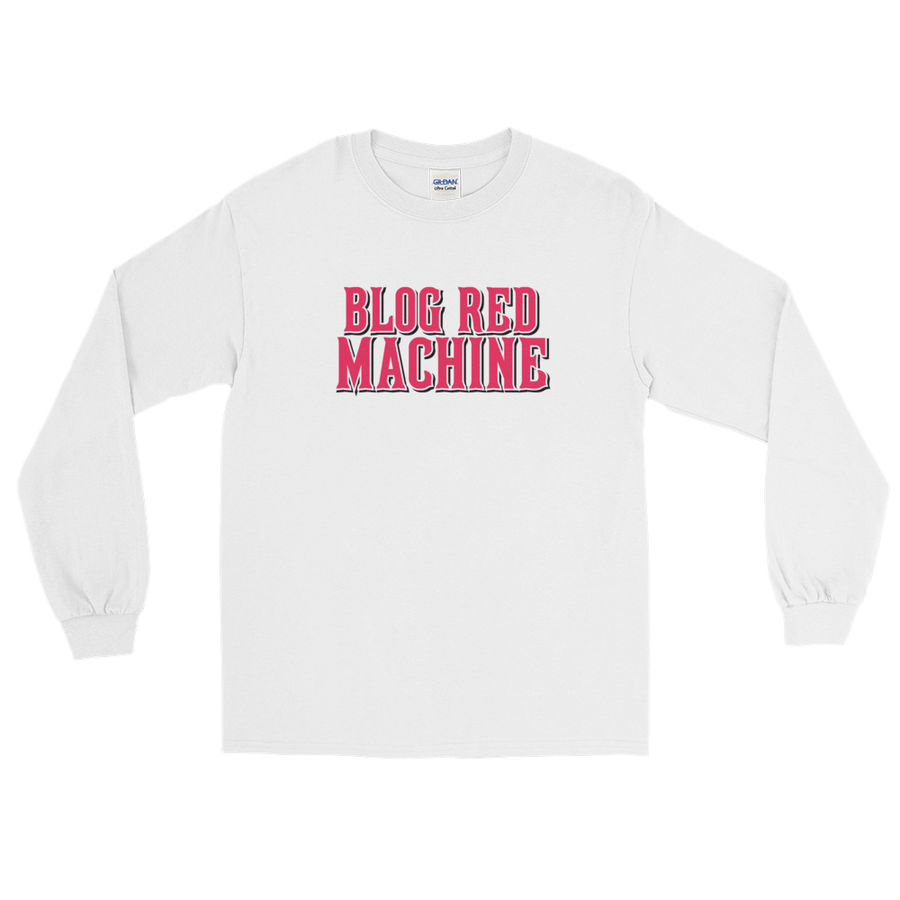 Blog Red Machine Long Sleeve T-Shirt