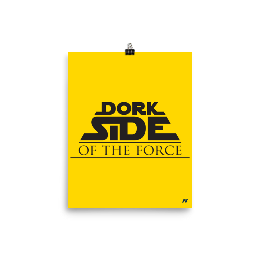 Dork Side of the Force Premium Matte Poster