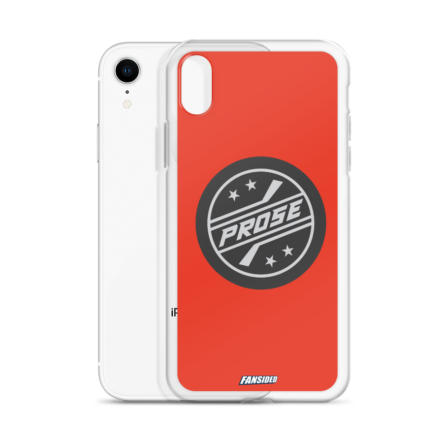 Puck Prose iPhone Case