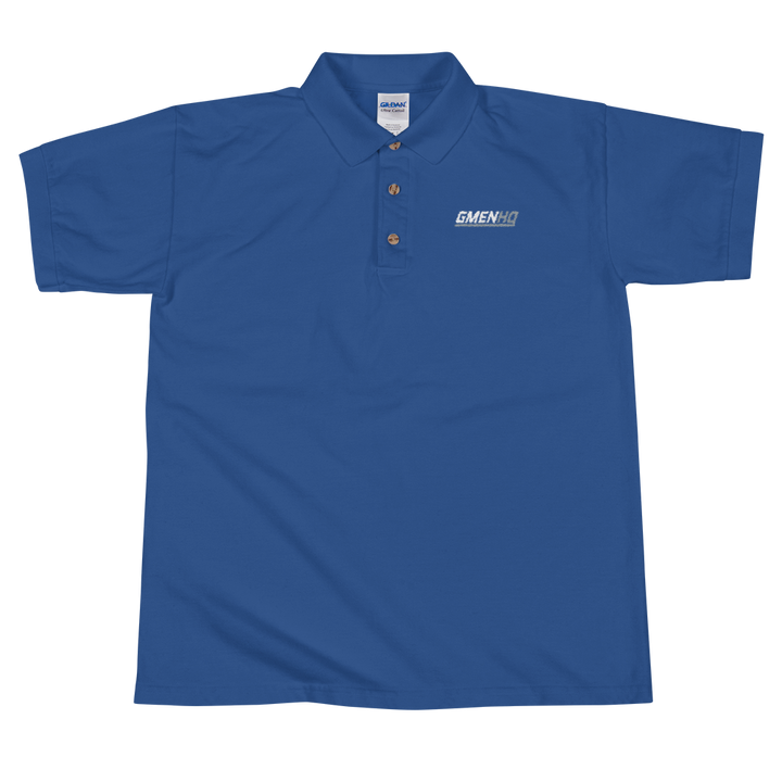 GMEN HQ Embroidered Polo Shirt