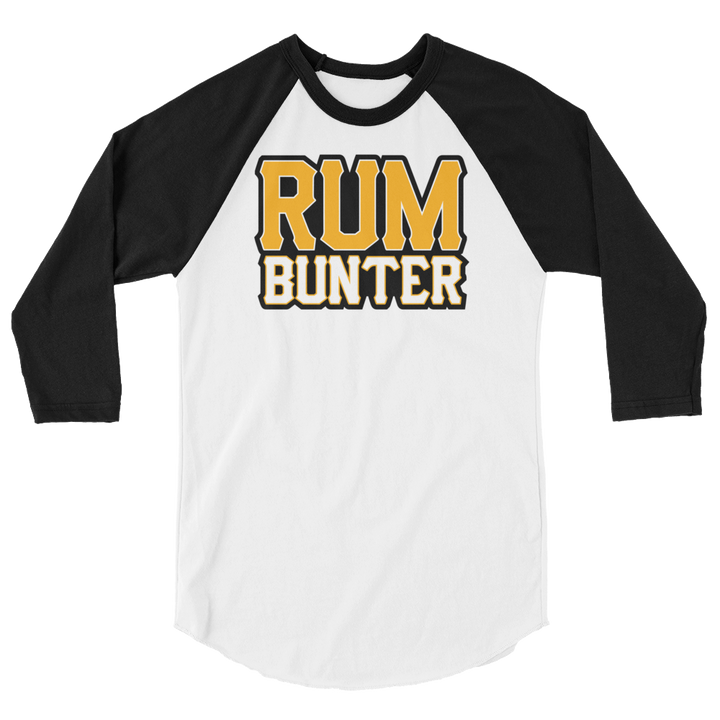 Rum Bunter 3/4 sleeve raglan shirt