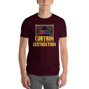Curtain Of Destruction Short-Sleeve T-Shirt
