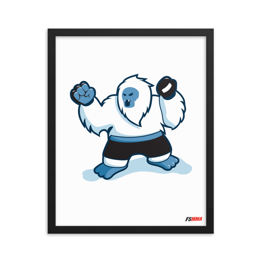 MMA Everest Premium Matte Framed Poster