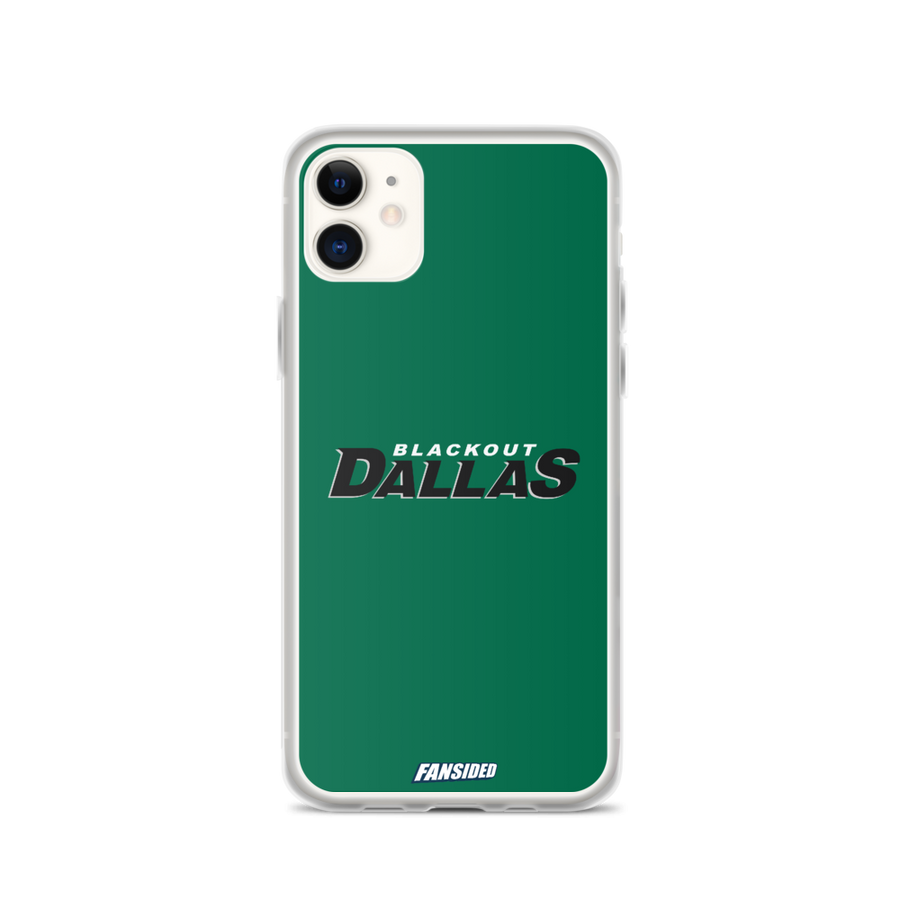 Blackout Dallas iPhone Case