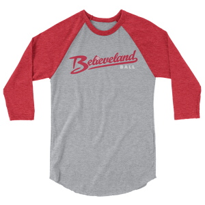 Believeland Ball 3/4 sleeve raglan Shirt