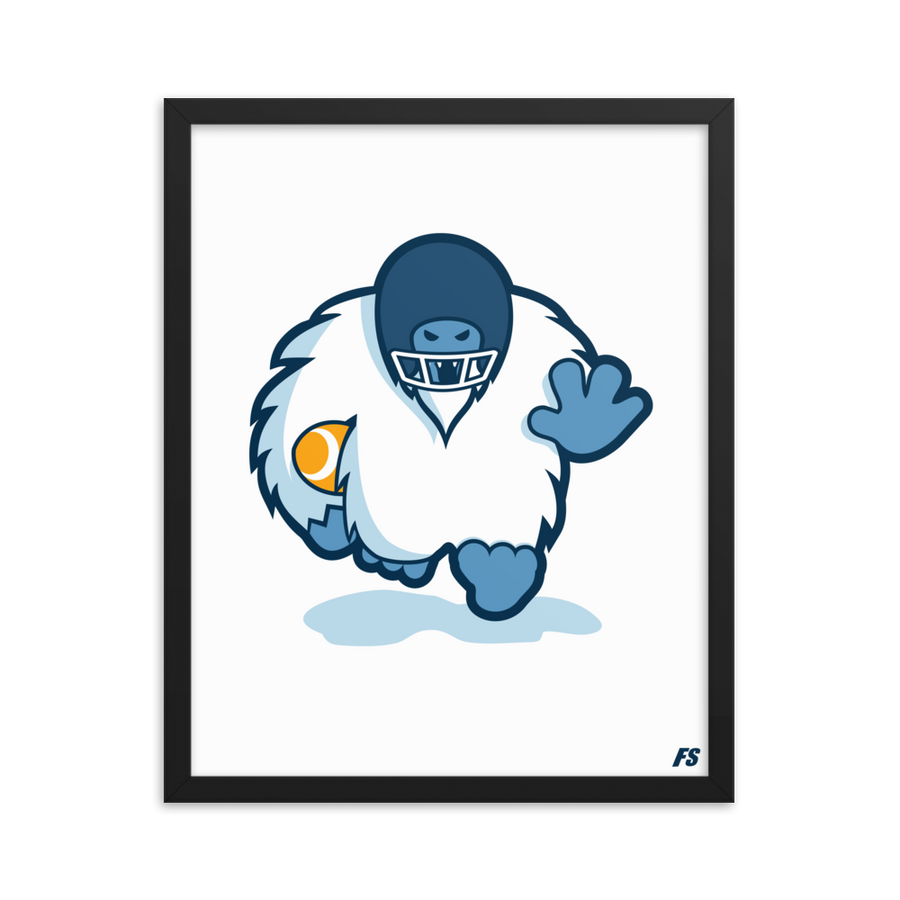 Football Everest Premium Matte Framed Poster