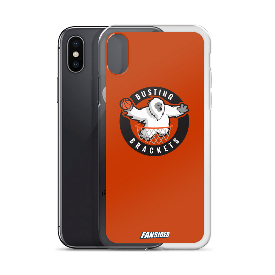 Busting Brackets iPhone Case
