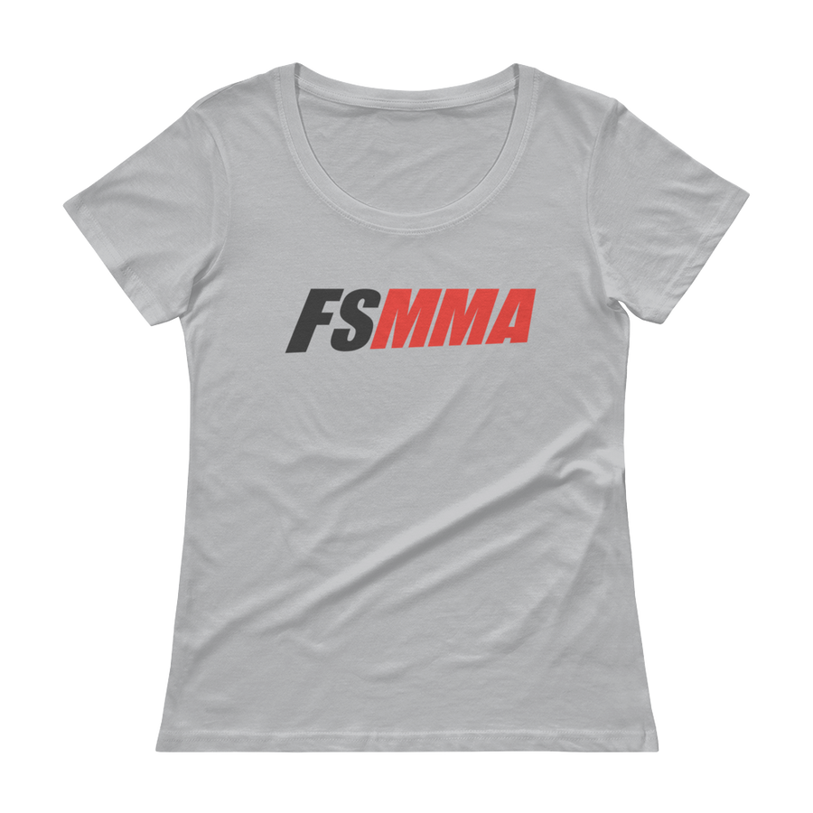 Women's FanSided MMA Scoopneck T-Shirt