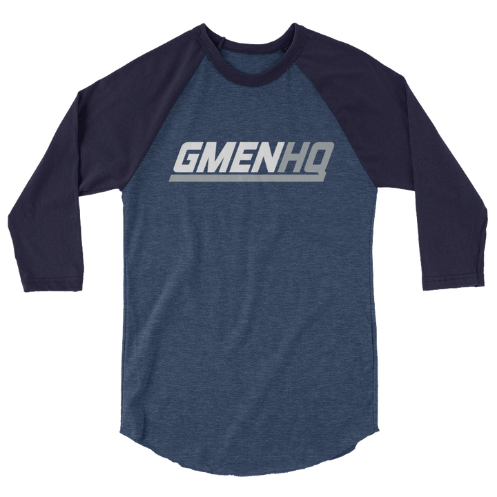 GMEN HQ 3/4 sleeve raglan shirt
