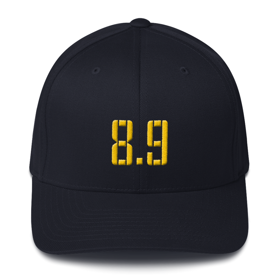 8 Points, 9 Seconds Structured Twill Cap