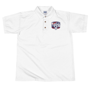 Call to the Pen Embroidered Polo Shirt