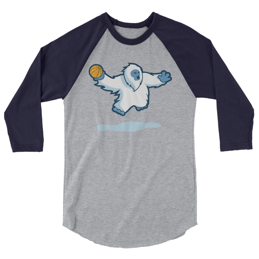 Basketball Everest 3/4 sleeve raglan shirt
