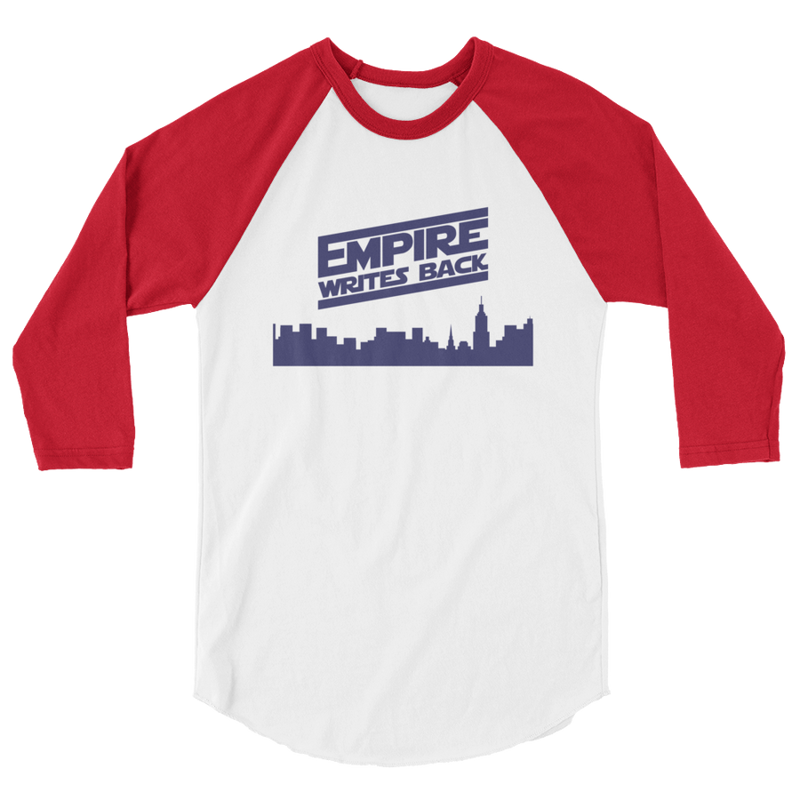Empire Writes Back 3/4 sleeve raglan shirt