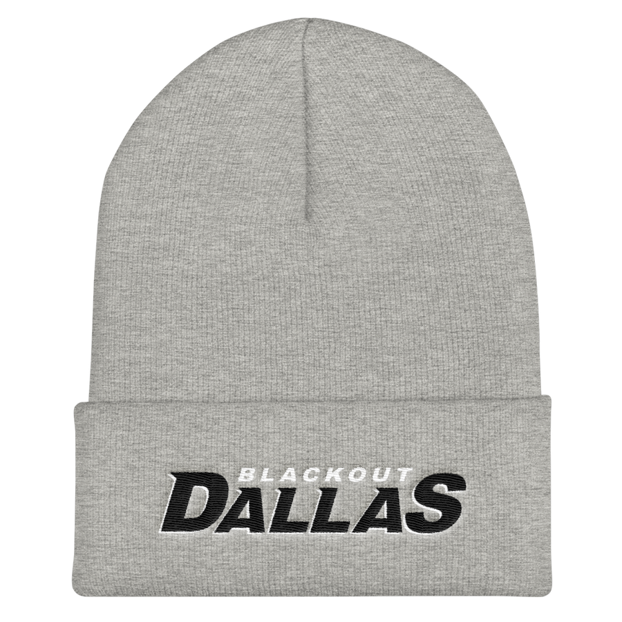 Blackout Dallas Cuffed Beanie