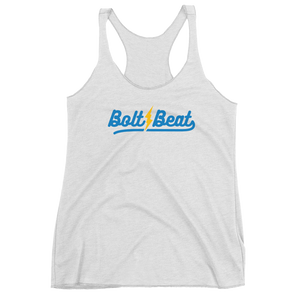 Bolt Beat Women's Racerback Tank