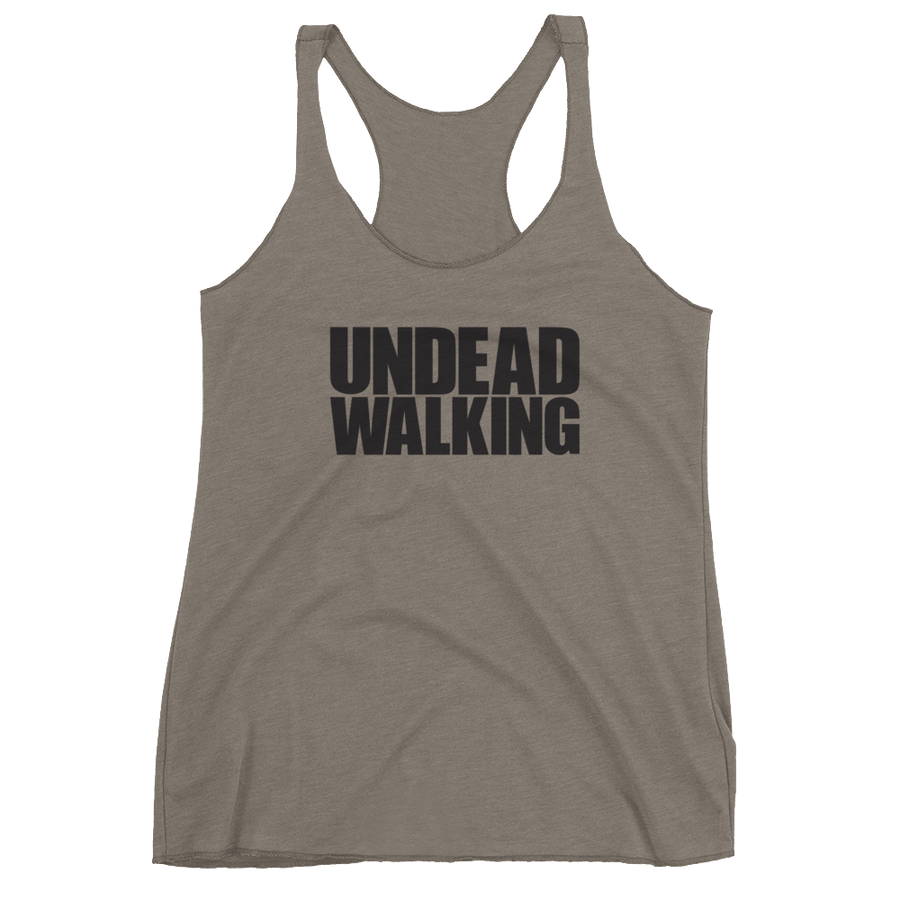 Women's Undead Walking Racerback Tank