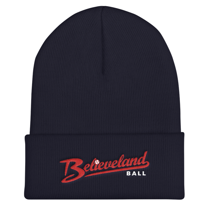 Believeland Ball Cuffed Beanie