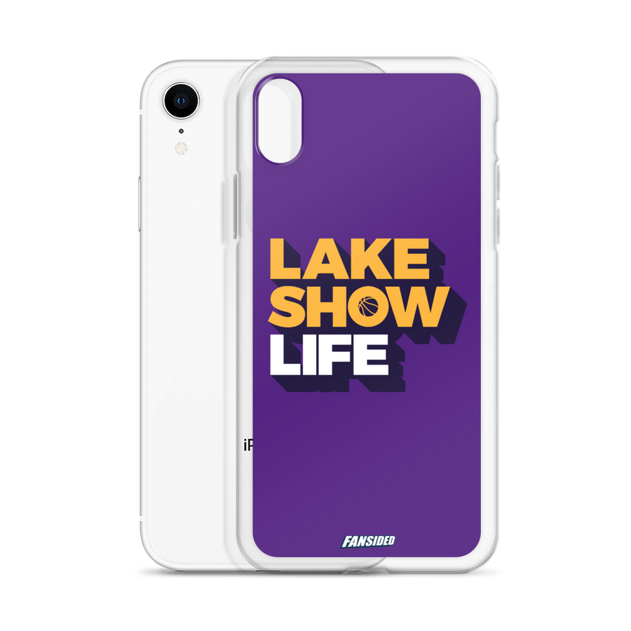 Lake Show Life iPhone Case