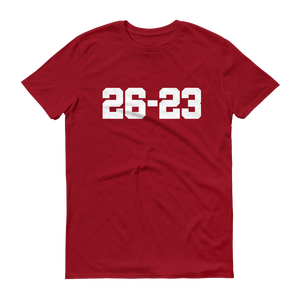 26-23 Score Men's Short-Sleeve T-Shirt