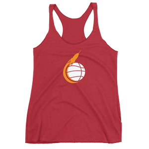 Women's Space City Scoop Racerback Tank
