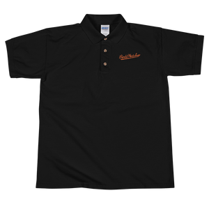 Birds Watcher Embroidered Polo Shirt