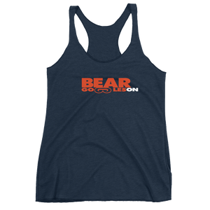 Women's Bear Goggles On Racerback Tank