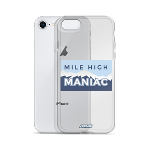 Mile High Maniac iPhone Case