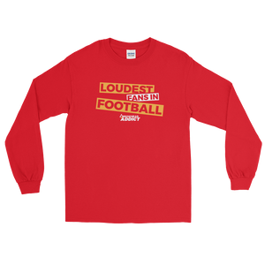 Loudest Fans In Football Arrowhead Addict Long Sleeve T-Shirt