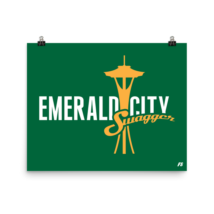 Emerald City Swagger Poster
