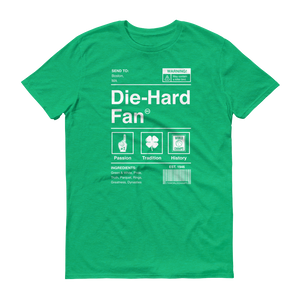 Boston Basketball Die-Hard Fan Short-Sleeve T-Shirt