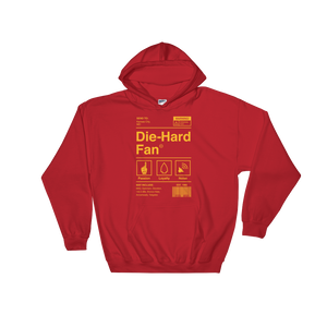 Kansas City Football Die-Hard Fan Hooded Sweatshirt