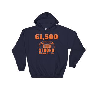 61,500 Strong Hooded Sweatshirt