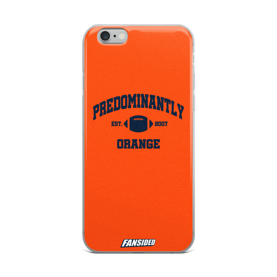 Predominantly Orange iPhone Case