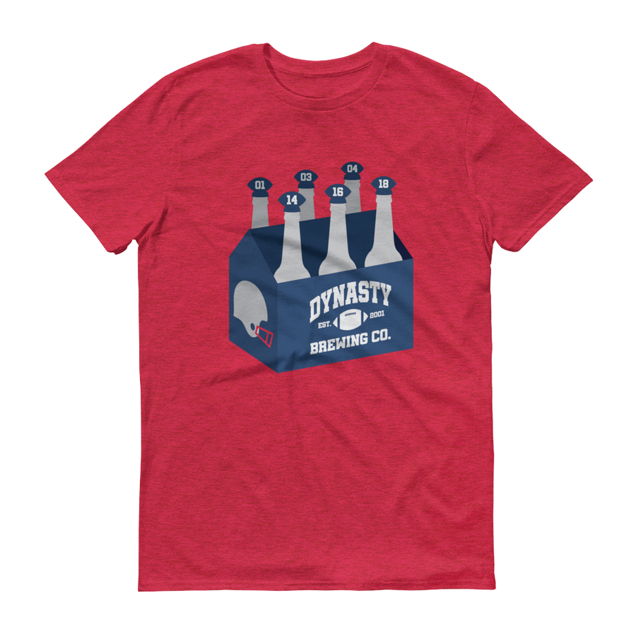 Dynasty Brewing Six Pack T-Shirt