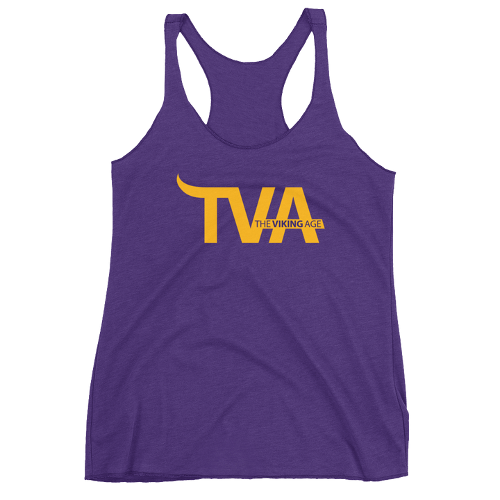 Women's Minnesota Football Racerback Tank